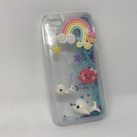 Seal Glitter iPhone 6/7 Case