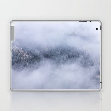 Beneath The Fog Laptop & iPad Skin by Mixed Imagery