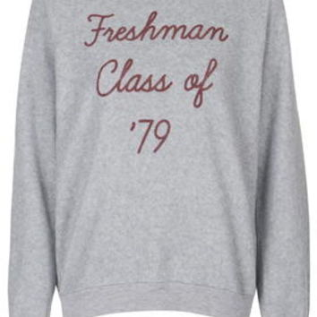 Freshman '79 Sweatshirt by Project Social T - Grey