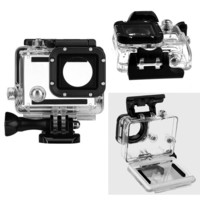 Black friday Gopro accessories 45m Underwater Diving Waterproof Case Shell Cover Housing Skeleton frame for Go pro hero 3/3+/4