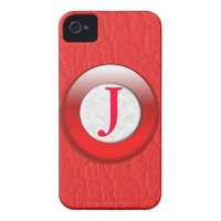 Personalized Alphabet phone cover iPhone 4 Cover