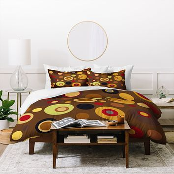 Viviana Gonzalez Vintage Colorplay 3 Duvet Cover