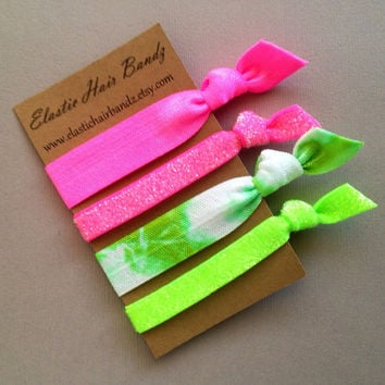 The Roxie Hair Tie - Ponytail Holder Collection by Elastic Hair Bandz on Etsy