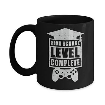 High School Level Complete Graduation Video Gamer Mug