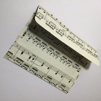 A2 music sheet envelopes with cards (10)