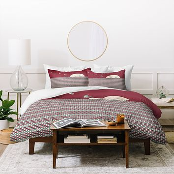 Belle13 Ethnic Sunrise Duvet Cover