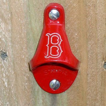 Boston Red Sox Bottle Opener & Capcatcher by KillorglinCreations