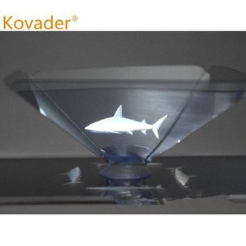 3D holo box Holographic tablet and  mobile phone pyramid |  wowdolphin