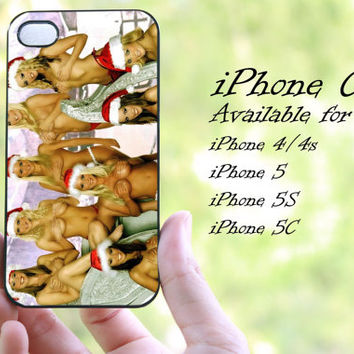 Sexy Girl Gift for Christmas design iphone case for iphone 4 case, iphone 4s case,iphone 5 case, iphone 5s case, iphone 5c case