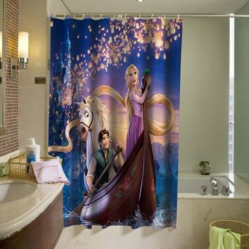 Disney Tangled Rapunzel Shower Curtain