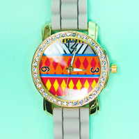 Tick Tock Tribal Watch