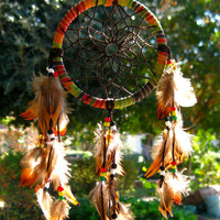 Limited Edition Mini Rasta Dream Catcher