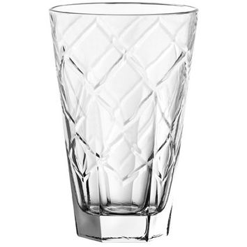 Majestic Gifts E63843-D-S6 Quality Glass Highball Tumbler 14.5 oz. Set of 6
