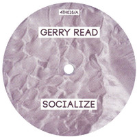 "Gerry Read: Socialize / Charcoal Vinyl 12"" (Record Store Day)"