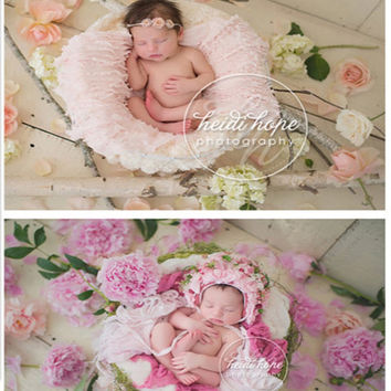 5*6.5ft Children Vinyl Backdrops For Photography Photo Studio Backdrop Fresh Flowers A variety of colors of flowers for Newborn