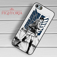 Levi Rivaille Attack On Titan -srw for iPhone 4/4S/5/5S/5C/6/6+,samsung S3/S4/S5/S6 Regular/S6 Edge,samsung note 3/4