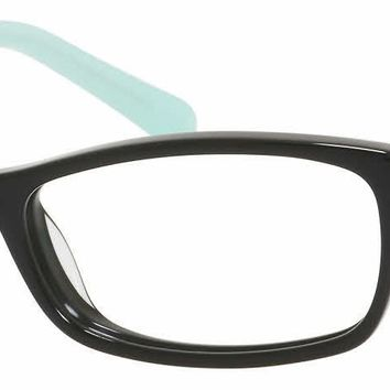 Kate Spade - Agneta Us 50mm Black Mint Eyeglasses / Demo Lenses