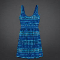 Moonlight Beach Skater Dress