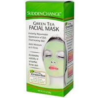 Sudden Change Green Tea Facial Mask, 3.4 Ounce