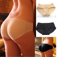 NEW Hip Up Padded Lady Sexy Butt Enhancer Shaper Panties Seamless Soft Underwear = 1932081156