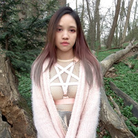 Babypink Dolly Pentagram Harness from A L I E N M O é