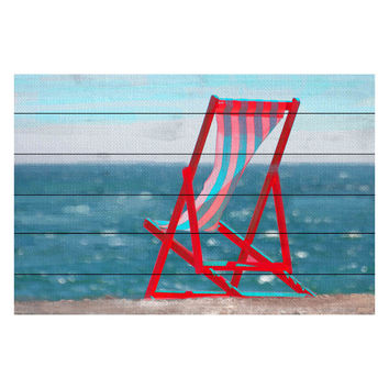 Marmont Hill Beach Chair (Wood)