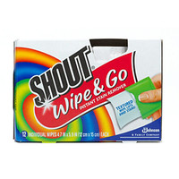 Shout Wipe & Go Instant Stain Remover Wipes | Walgreens