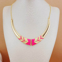 Hot Pink Statement Necklace  from Her Vanity Affair