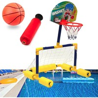 Water Sports Kids Child Swimming Pool Basketball Toy Water Floatation Basketball Game Equipment Pool Toy Game Pool Accessories