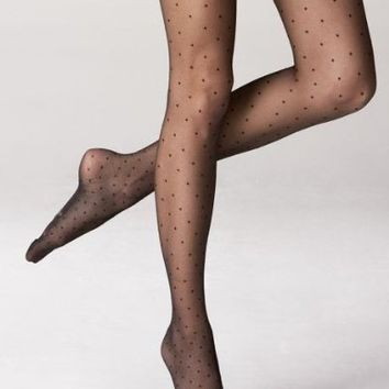 French Polka Dot Tights / Pantyhose