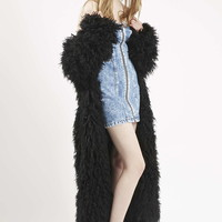 Long Monster Rave Coat by Topshop Archive - Jackets & Coats - Clothing