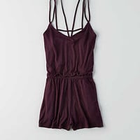 AEO SOFT & SEXY CAGE BACK ROMPER