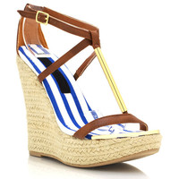 metal-accent-strappy-wedges BLACK WHISKY WHITE - GoJane.com
