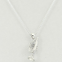 Sparkle Trumpet Necklace