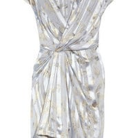 Thakoon Printed silk-chiffon dress - 70% Off Now at THE OUTNET