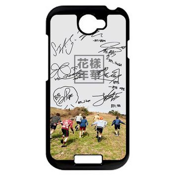 Bts Phone Signature HTC One S Case