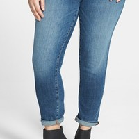 Plus Size Women's Eileen Fisher Organic Cotton Boyfriend Jeans