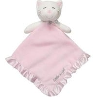 """Little Angel"" Kitty Security Blanket Snuggle Buddy Lovey by Carter`s"