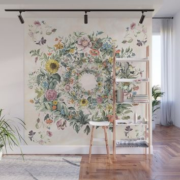 Circle of life Wall Mural by anipani