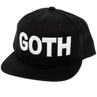 The ASAP Goth Snapback