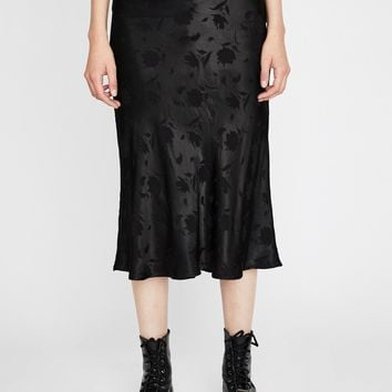 Night Sway With Me Midi Skirt