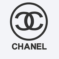 Chanel Inspired, Chanel Decal, Car Decal, iPad Chanel Decal, Yeti Cup Decal