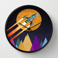 2nd Star to the right LLAP Wall Clock by Tjc555