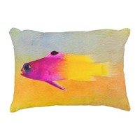 Fish Accent Pillow