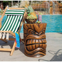 Park Avenue Collection Kanaloa Grand Tiki God Table