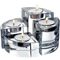 Orrefors Quartet Votive set of 4