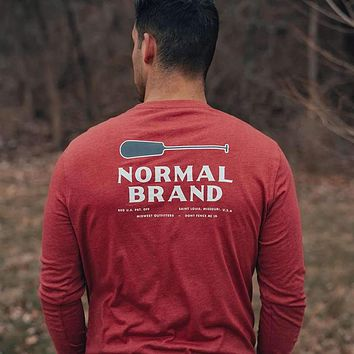 Paddle Long Sleeve T-Shirt by The Normal Brand