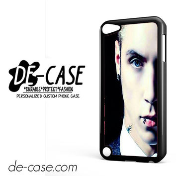Andy Biersack Black Veil Brides Half Face DEAL-765 Apple Phonecase Cover For Ipod Touch 5