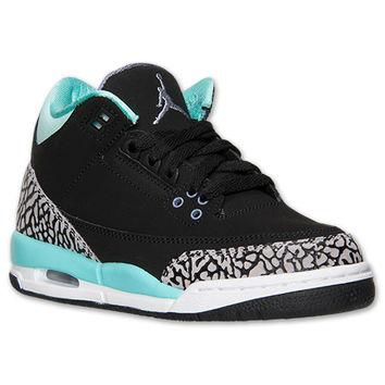 Girls' Grade School Air Jordan Retro 3 Basketball Shoes