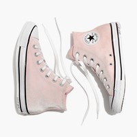 Converse® Chuck Taylor All Star High-Top Sneakers in Velvet : | Madewell